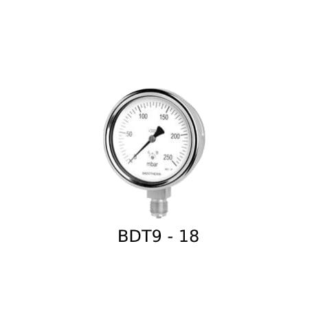 Foto Capsule Pressure Gauge BDT9-18