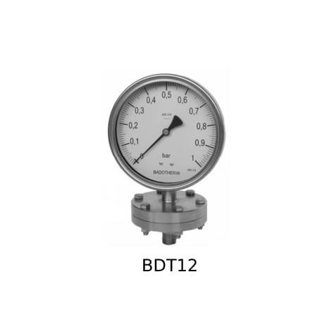 Foto Diaphragm Pressure Gauge BDT12