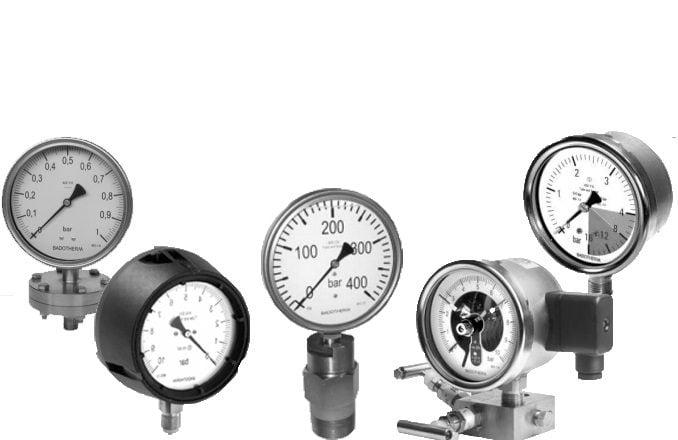 Pressure Gauge Merk Badotherm