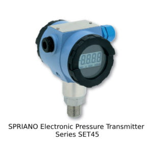SPRIANO Electronic Pressure Transmitter Series SET45
