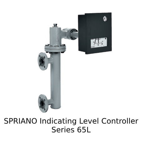 SPRIANO Indicating Level Controller Series 65L