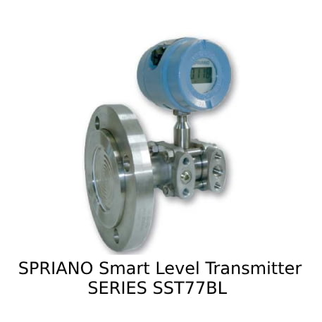 SPRIANO Smart Level Transmitter SERIES SST77BL