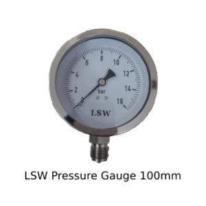 LSW Pressure Gauge 100mm