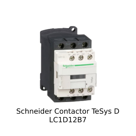 Harga Schneider Contactor LC1D12BD