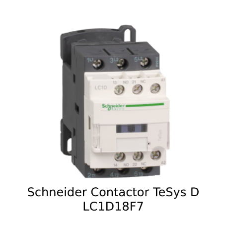 Foto Schneider Contactor LC1D18F7
