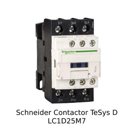 Foto Schneider Contactor LC1D25M7