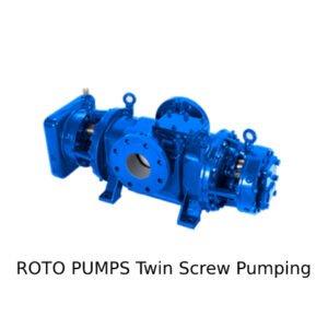 Roto Pump Twin Screw Pumping (Pompa Sekrup Kembar)