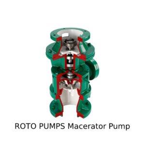 Roto Pumps Macerator Pump