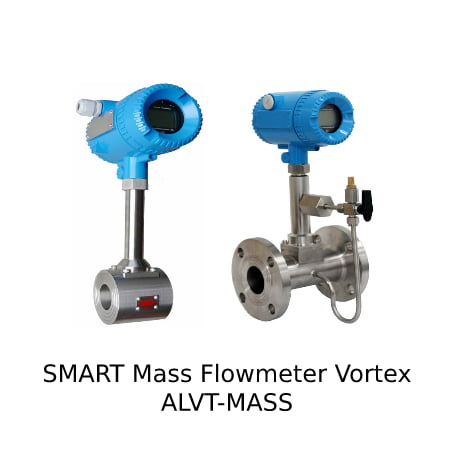 Foto SMART Mass Flowmeter Vortex ALVT-MASS