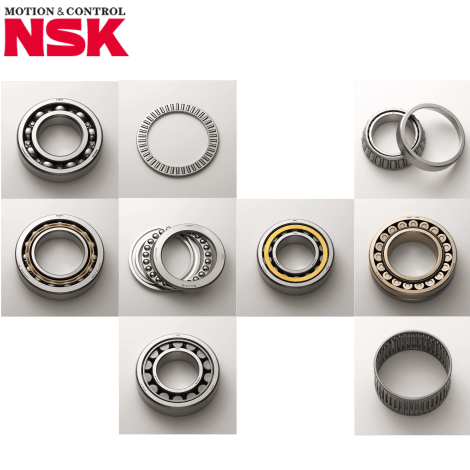 Produk NSK Bearing berbagai tipe