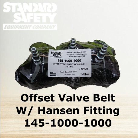StandardSafety Offset Valve Belt 145-1000-1000