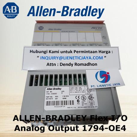 Pic1 ALLEN-BRADLEY Flex IO Analog Output 1794-OE4