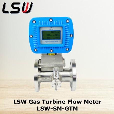 Gambar 2 LSW Gas Turbine Flow Meter LSW-SM-GTM